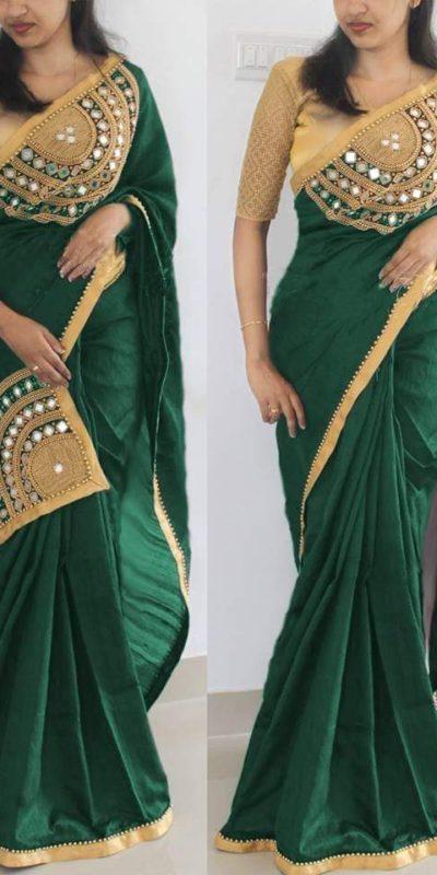 dazzling-green-color-real-mirror-work-paper-silk-saree