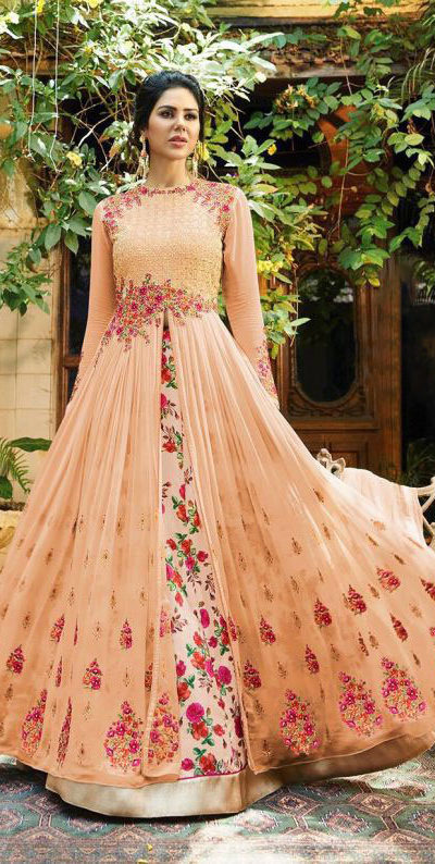 beautiful-cream-color-georgette-embroidered-stone-work-anarkali-suit