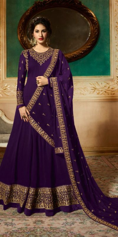 marvelous-voilet-georgette-designer-embroidered-anarkali-suit