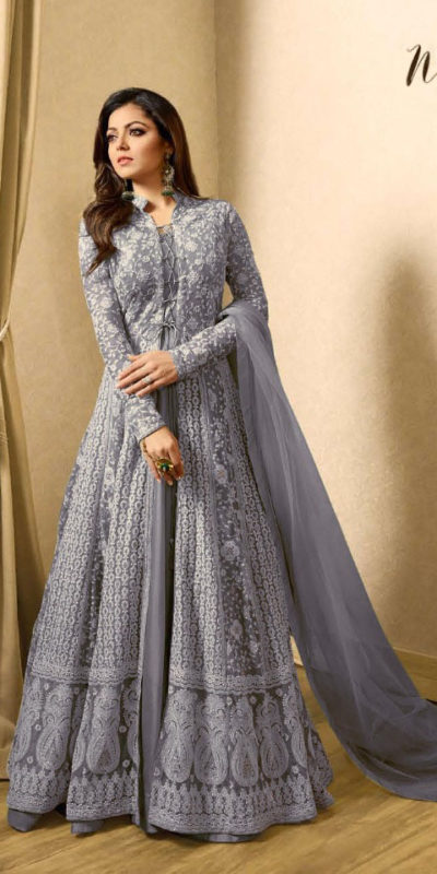 drashti-dhami-grey-embroidered-georgette-net-anarkali-suit