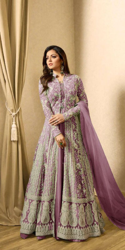drashti-dhami-purple-embroidered-georgette-net-anarkali-suit