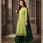 light-green-faux-georgette-embroidery-stone-work-sharara-suit