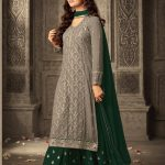 mesmerizing-grey-green-faux-georgette-embroidery-stone-work-sharara-suit