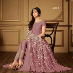 rose-pink-color-heavy-georgette-stone-work-suit-with-heavy-dupatta