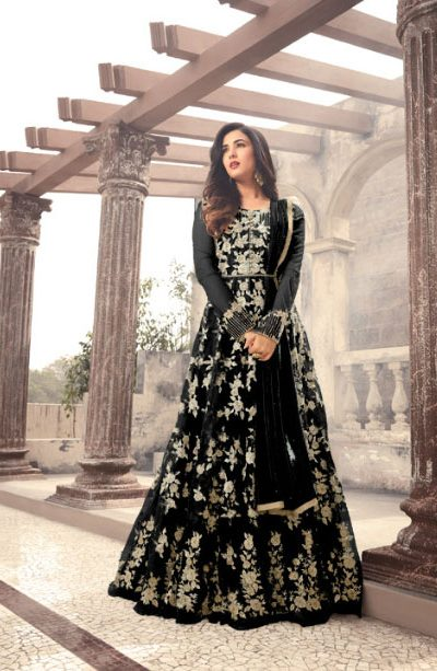 magical-black-color-heavy-net-embroidered-and-stone-work-anarkali-suit