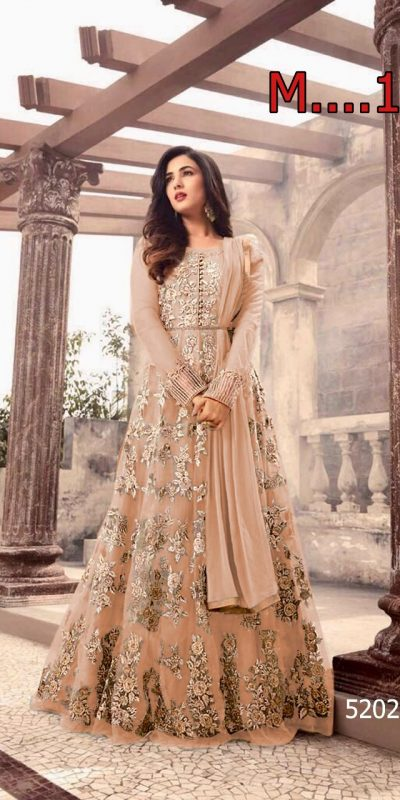 magical-light-orange-color-heavy-net-embroidered-and-stone-work-anarkali-suit