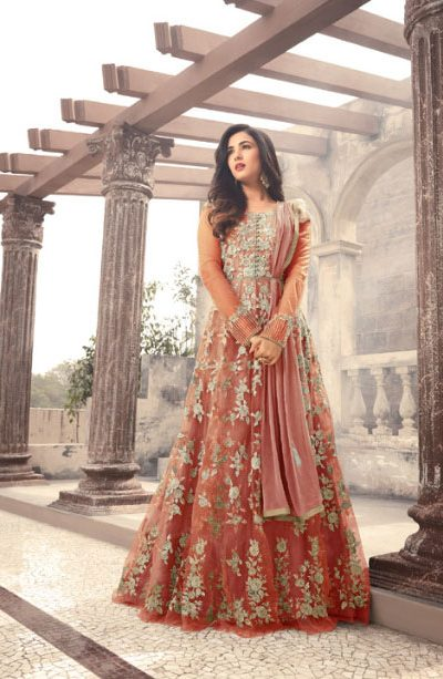 magical-orange-color-heavy-net-embroidered-and-stone-work-anarkali-suit