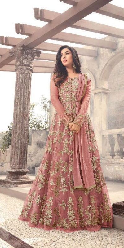 magical-peach-color-heavy-net-embroidered-and-stone-work-anarkali-suit