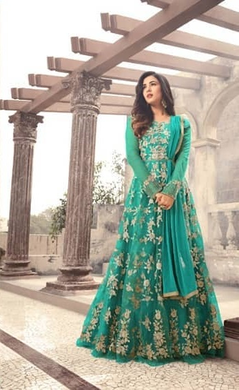 magical-sea-green-color-heavy-net-embroidered-and-stone-work-anarkali-suit