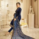 decorative-blue-color-georgette-with-embroidery-work-salwar-suit