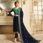 decorative-greenblue-color-georgette-with-embroidery-work-salwar-suit