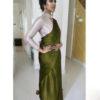 exemplary-green-color-satin-japan-fabric-party-wear-saree