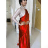 exemplary-red-color-satin-japan-fabric-party-wear-saree