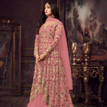 luminous-dark-pink-color-heavy-net-embroidered-stone-work-sharara-suit