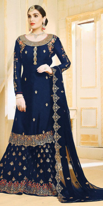 progressive-blue-color-georgette-embroidered-plazo-suit-from-ghunghat