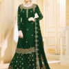 progressive-green-color-georgette-embroidered-plazo-suit-from-ghunghat