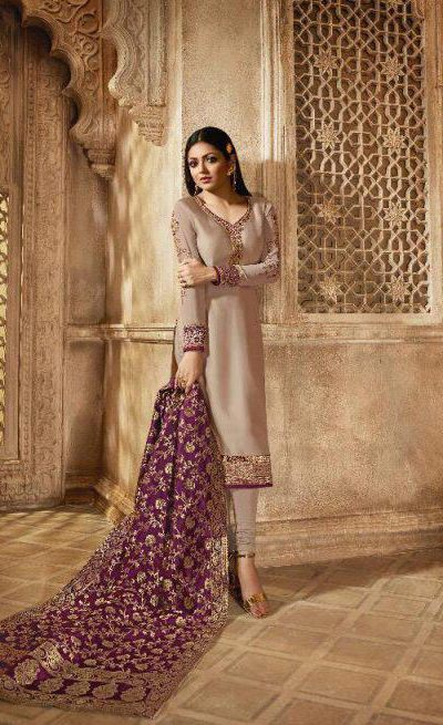 blooming-cream-color-heavy-georgette-salwar-suit-with-banaras-dupatta