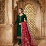 blooming-green-color-heavy-georgette-salwar-suit-with-banaras-dupatta