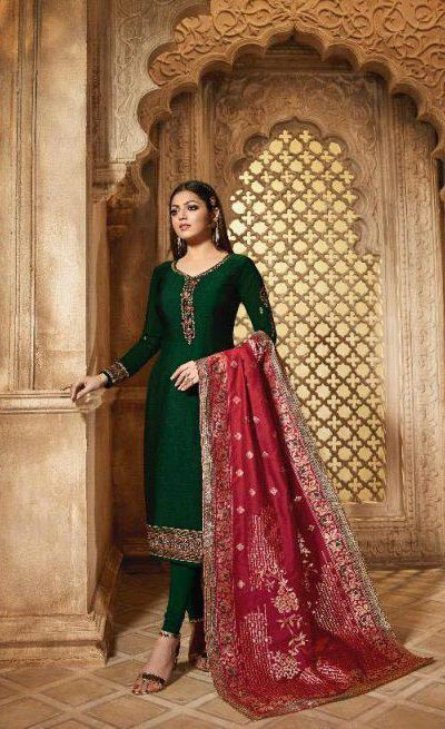 blooming-green-color-heavy-georgette-salwar-suit-with-banaras-dupatta