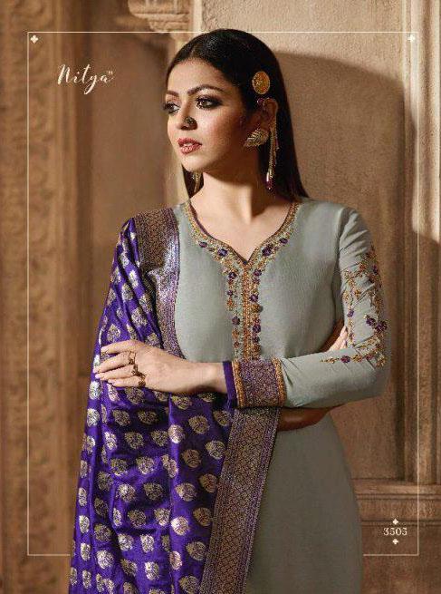 blooming-grey-color-heavy-georgette-salwar-suit-with-banaras-dupatta