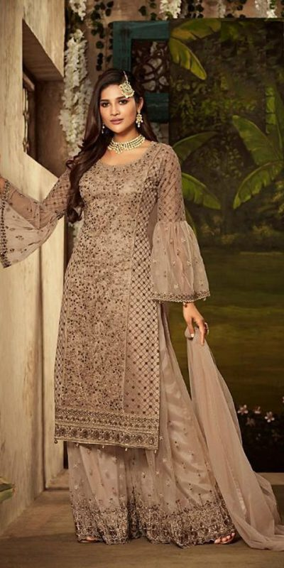 gold-color-heavy-net-with-embroidery-stone-work-wedding-suit