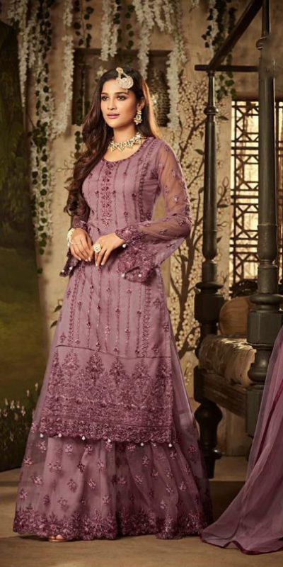 purple-color-heavy-net-with-embroidery-stone-work-wedding-suit