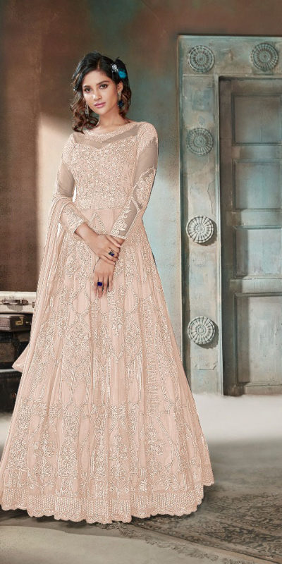 enigmatic-off-white-color-heavy-net-embroidery-diamond-work-anarkali-suit