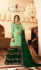 pleasing-green-color-satin-georgette-multi-diamond-work-plazo-suit
