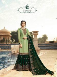 pleasing-light-green-color-satin-georgette-multi-diamond-work-plazo-suit