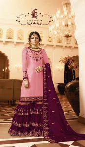 pleasing-purple-color-satin-georgette-multi-diamond-work-plazo-suit