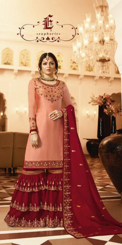 pleasing-red-color-satin-georgette-multi-diamond-work-plazo-suit