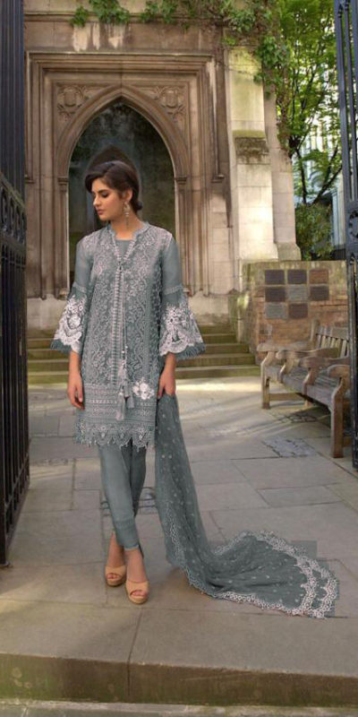 vibrant-grey-color-heavy-net-embroidered-stone-work-plazo-suit