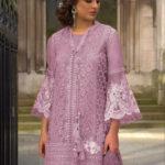vibrant-purple-color-heavy-net-embroidered-moti-work-plazo-suit