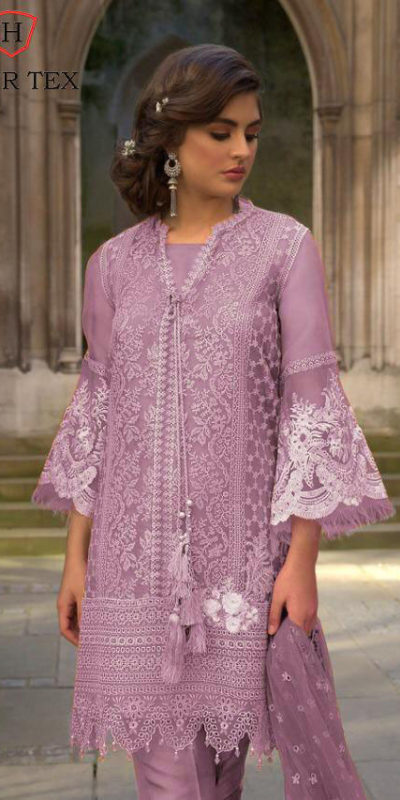 vibrant-purple-color-heavy-net-embroidered-moti-work-plazo-suit