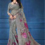 becoming-multi-color-linen-designer-digital-print-saree