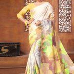 picturesque-multi-color-linen-designer-digital-print-saree