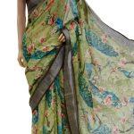 sparkling-multi-color-linen-designer-digital-print-saree