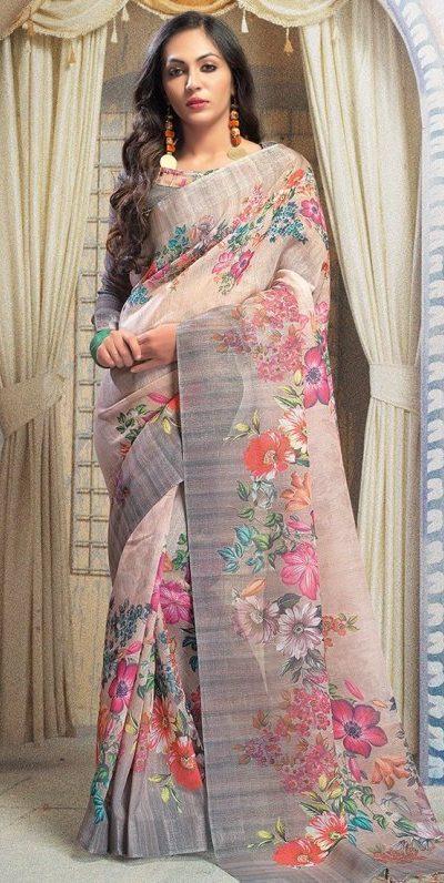 stylish-multi-color-linen-designer-digital-print-saree