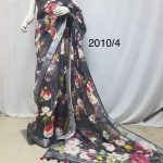 Taking Multi Color Linen Designer Digital Print Saree 2