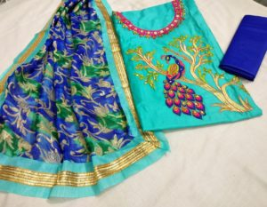 alluring-sky-blue-color-heavy-modals-silk-festival-wear-dress-material