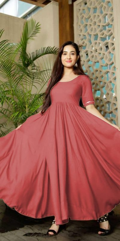 classic-floral-blush-red-color-american-creep-silk-gown
