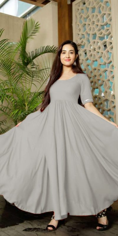 classic-floral-grey-color-american-creep-silk-gown