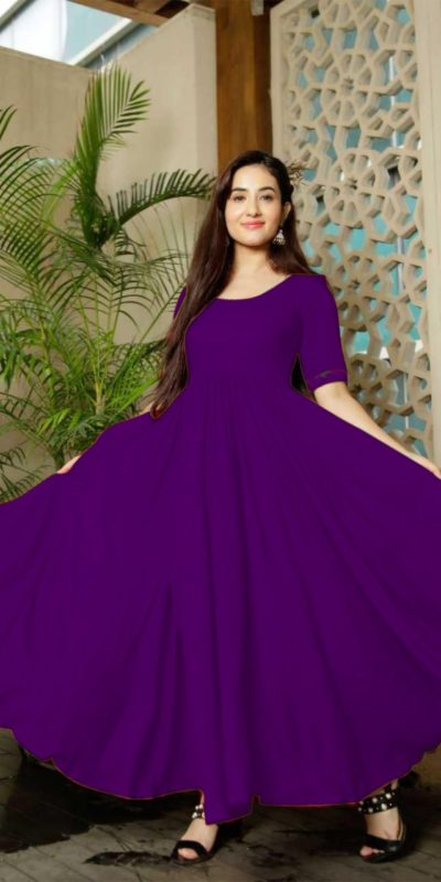 classic-floral-violet-color-american-creep-silk-gown