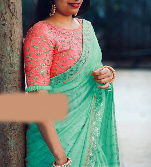 cotton-chex-with-heavy-coding-sequence-work-sky-blue-color-fancy-saree