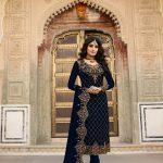 elegant-blue-color-fox-georgette-embroidery-stone-work-salwar-suit