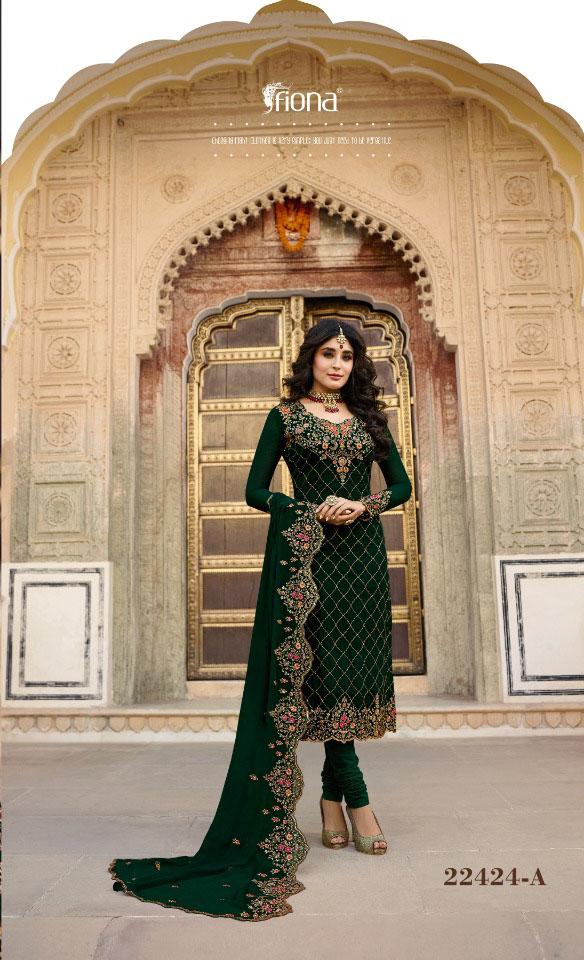 elegant-green-color-fox-georgette-embroidery-stone-work-salwar-suit