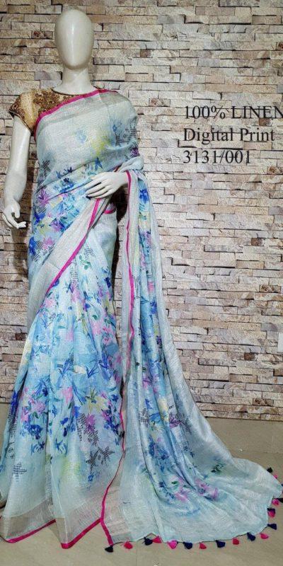 inspiring-multi-color-linen-designer-digital-print-saree