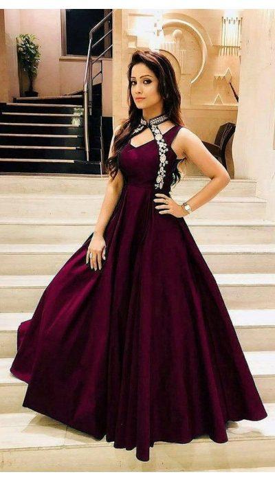 luxurious-look-with-wine-taffeta-satin-thread-work-gown