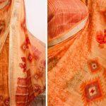magnificent-multi-color-linen-designer-digital-print-saree