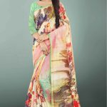 peaceful-multi-color-linen-designer-digital-print-saree